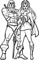 He Man She Ra Coloring Page