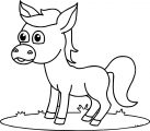 Horse Coloring Page WeColoringPage 044
