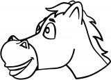 Horse Coloring Page WeColoringPage 109