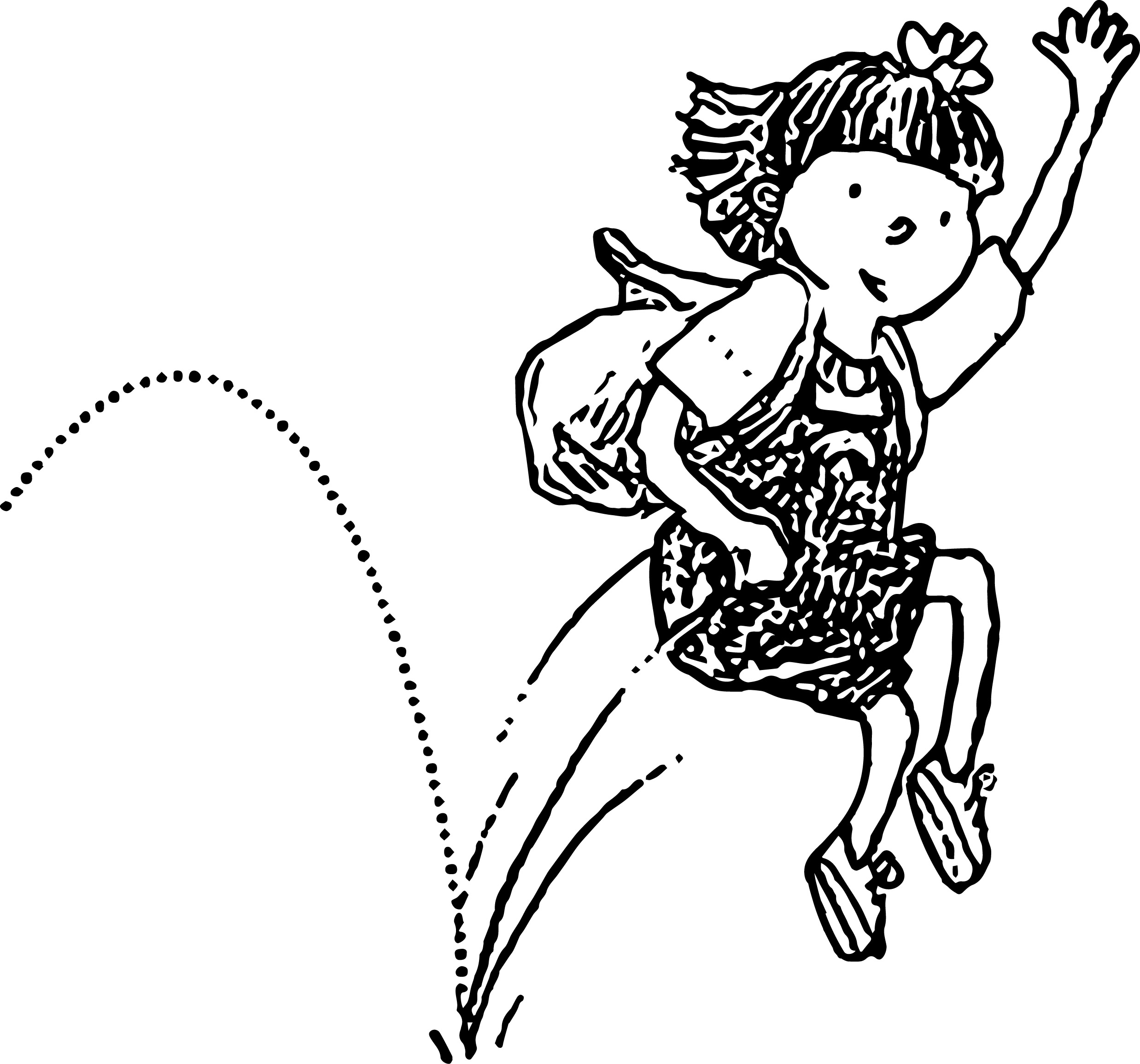 Illus Young Ab Bounce Coloring Page