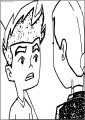 Jake And Rose American Dragon Jake Long Talk Free A4 Printable Coloring Page