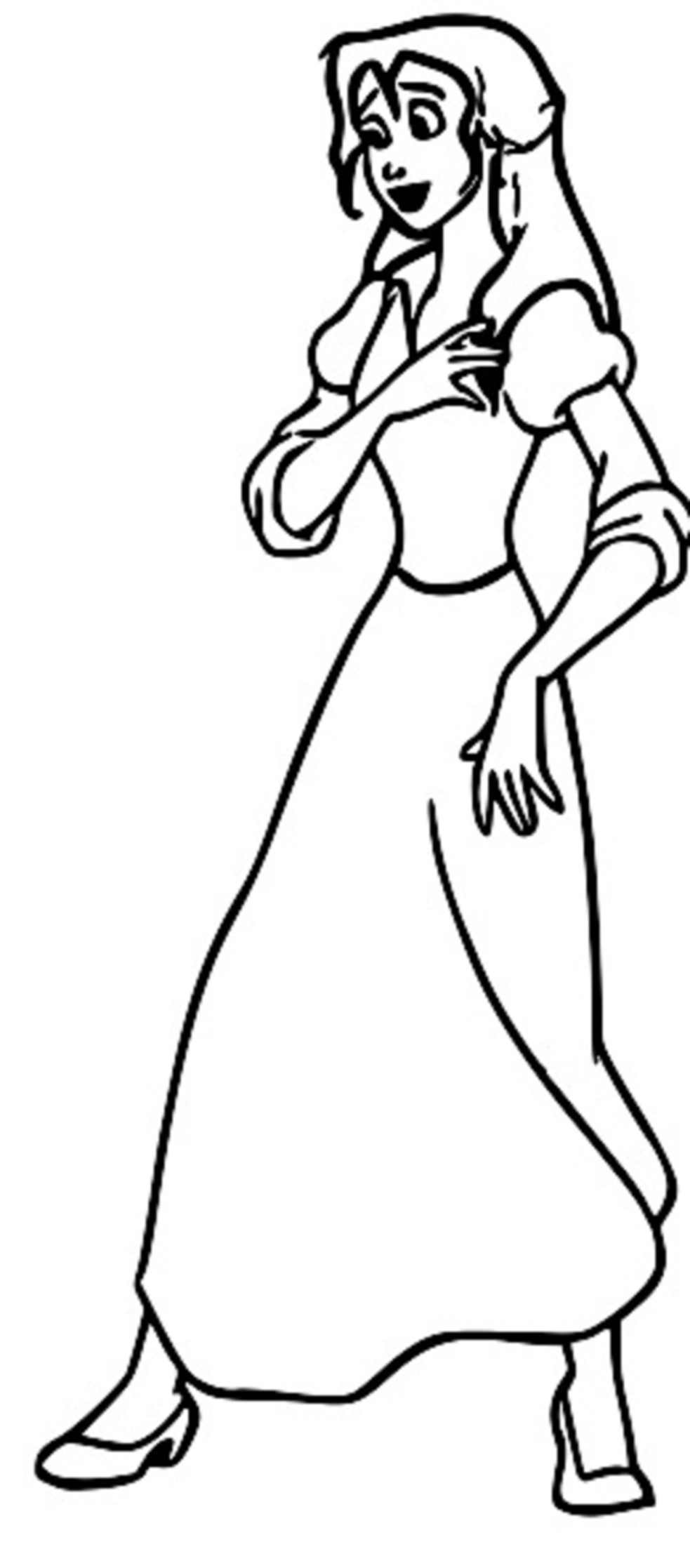 Jane Coloring Page 6