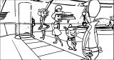 Jetsons Coloring Page 063