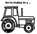John Johnny Deere Tractor Coloring Page WeColoringPage 13