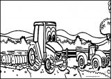 John Johnny Deere Tractor Coloring Page WeColoringPage 29