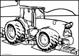 John Johnny Deere Tractor Coloring Page WeColoringPage 31