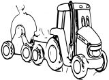 John Johnny Deere Tractor Coloring Page WeColoringPage 66
