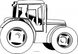 John Johnny Deere Tractor Side Coloring Page WeColoringPage