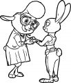 Judy Bellwether Coloring Page