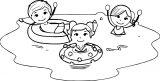 Kids Summer Fun Clip Art Gtwmev250j Kids Coloring Page