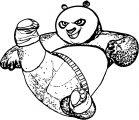 Kung Fu Panda Coloring Page 38