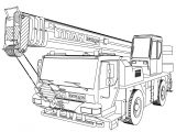 MAN Ltm 1160 Pull Truck Coloring Page