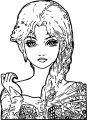 Manga Coloring Page 057