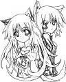 Manga Coloring Page 081
