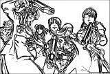 Manga Coloring Page 096