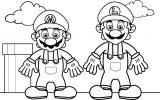 Mario Coloring Pages