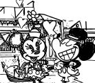 Mickey Mouse Cartoon Coloring Page WeColoringPage 167