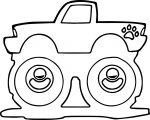 Monster Truck Coloring Page 04