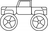 Monster Truck Coloring Page 05