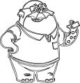 Monster University Doncarlton Coloring Pages