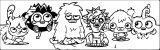 Moshi Monsters Coloring Page 17