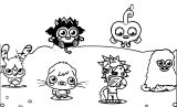 Moshi Monsters Coloring Page 2