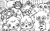 Moshi Monsters Coloring Page 25