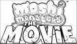 Moshi Movie Logo Coloring Page