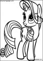 My Little Pony Coloring Page 04
