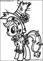 My Little Pony Coloring Page 44