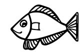 New Nice Fish Coloring Page