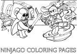 Ninjago Coloring Pages 04
