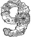 Number Nine Sea Style Coloring Page