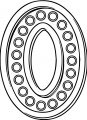 Number Zero With Lights Coloring Page