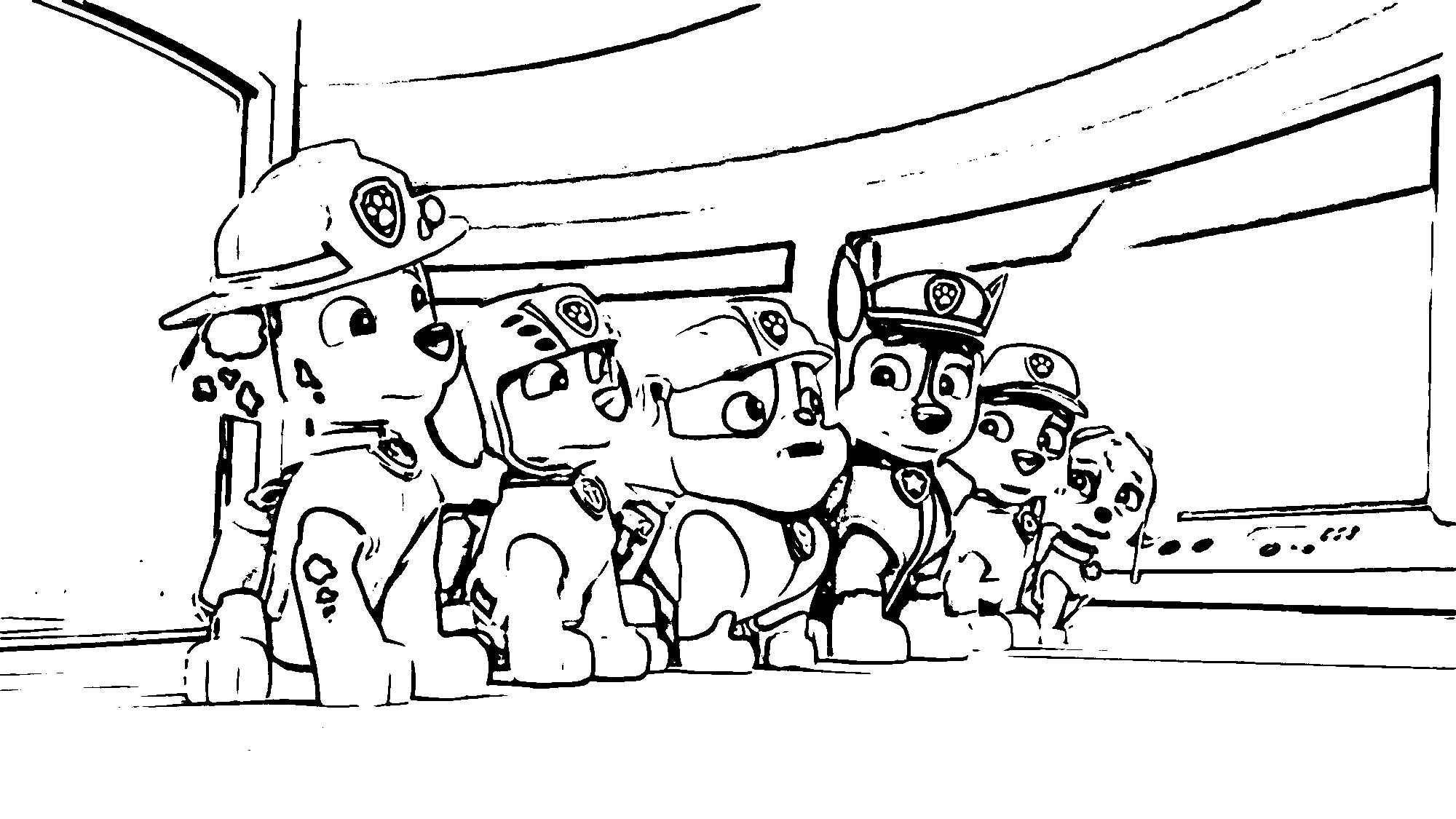 Paw.Patrol 000911543 135 Coloring Page