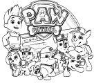 Pawpatrol Coloring Page