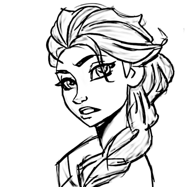 Perfect Girl Coloring Page Wecoloring page