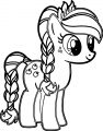 Pony Cartoon My Little Pony We Coloring Page 03