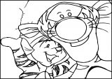 Pooh Wallpaper Tigger & Roo In The Tigger Movie Coloring Page
