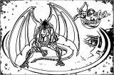 Preyas Diablo Coloring Page