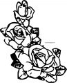 Rose Coloring Page 07