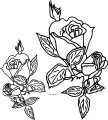 Rose Coloring Page 08