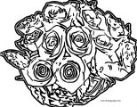 Rose Coloring Page 22