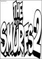 Smurfs Two Logo En Free Printable Coloring Page