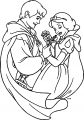 Snow White And The Prince Coloring Page 04
