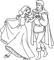 Snow White And The Prince Coloring Page 13