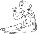 Snow White Coloring Page 012