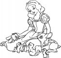 Snow White Coloring Page 015