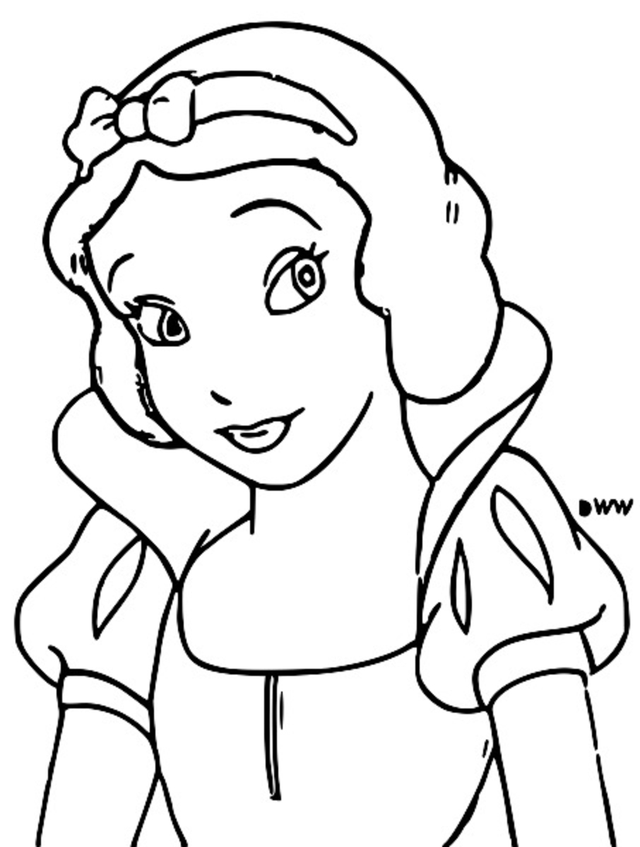 Snow White Coloring Page 016