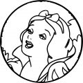 Snow White Coloring Page 021